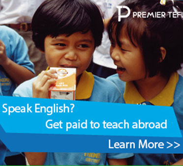 TipTop ESL Ltd is happy to be affiliated with Premier TEFL.